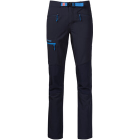 Bergans Cecilie Mountaineering Pantalones Mujer, navy/cloud blue